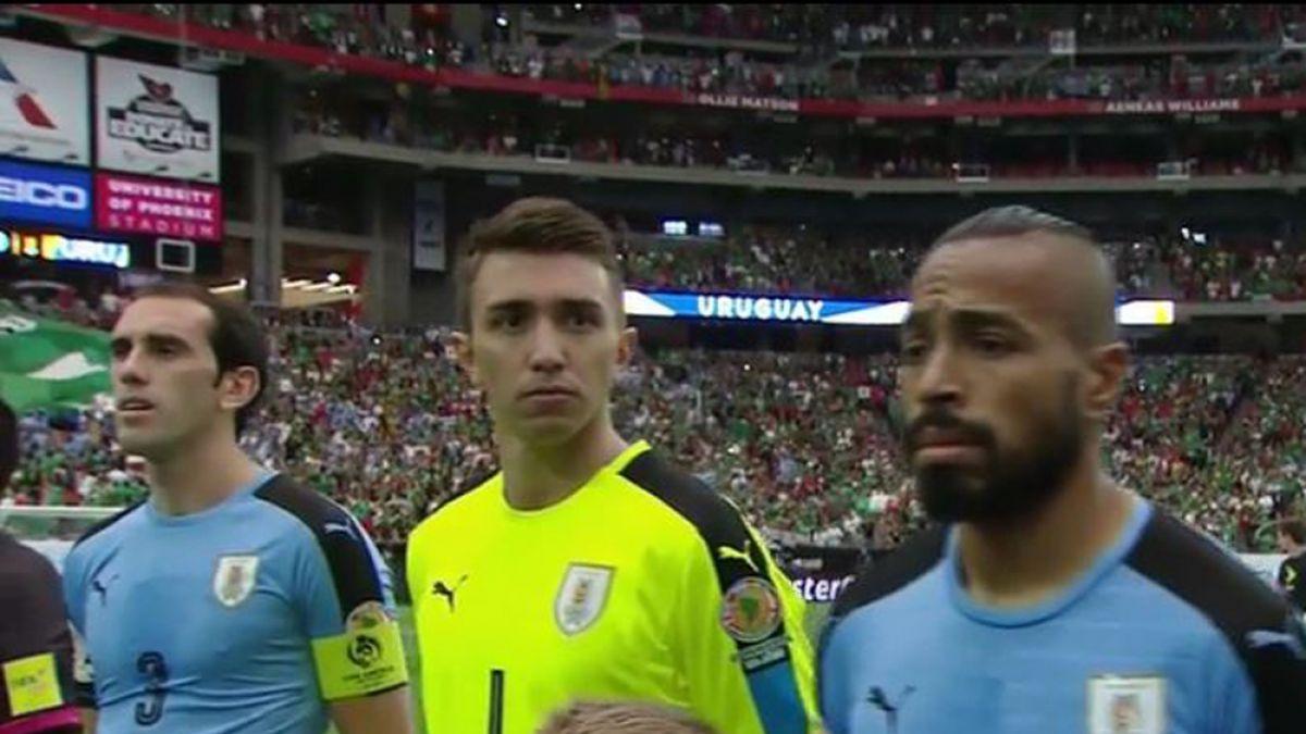 Equivocación Himno de Uruguay Copa América