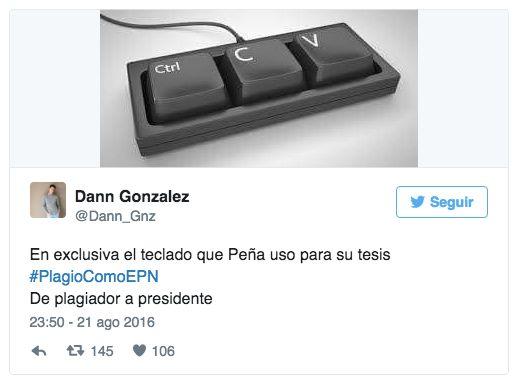 El teclado de Peña nieto