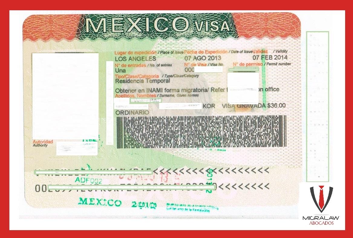 Obtención de Visa de Servicio en México