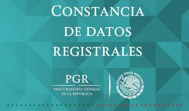 Datos Registrales en México