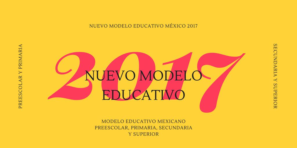 Nuevo Modelo Educativo en México