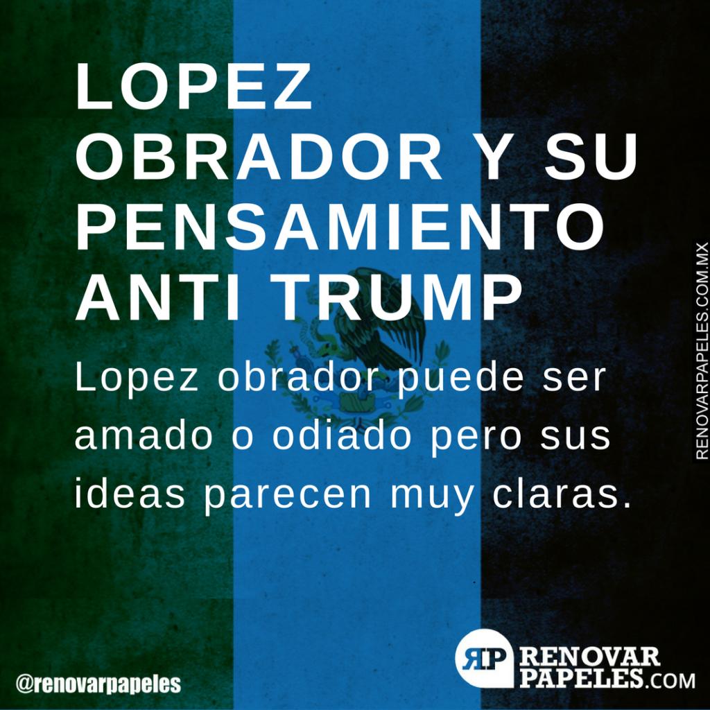 Lopez Obrador vs Trump