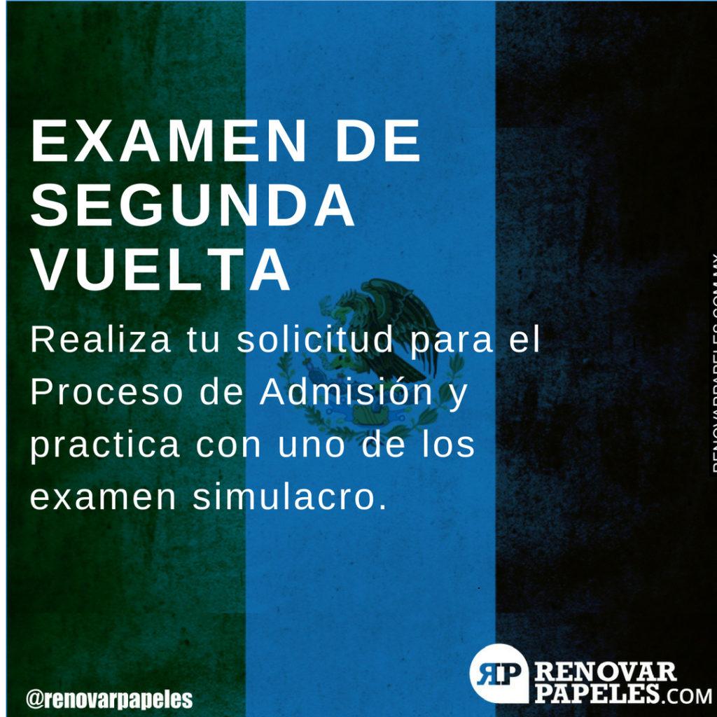 Proceso de Admisión Escolar IPN México 2018-2019