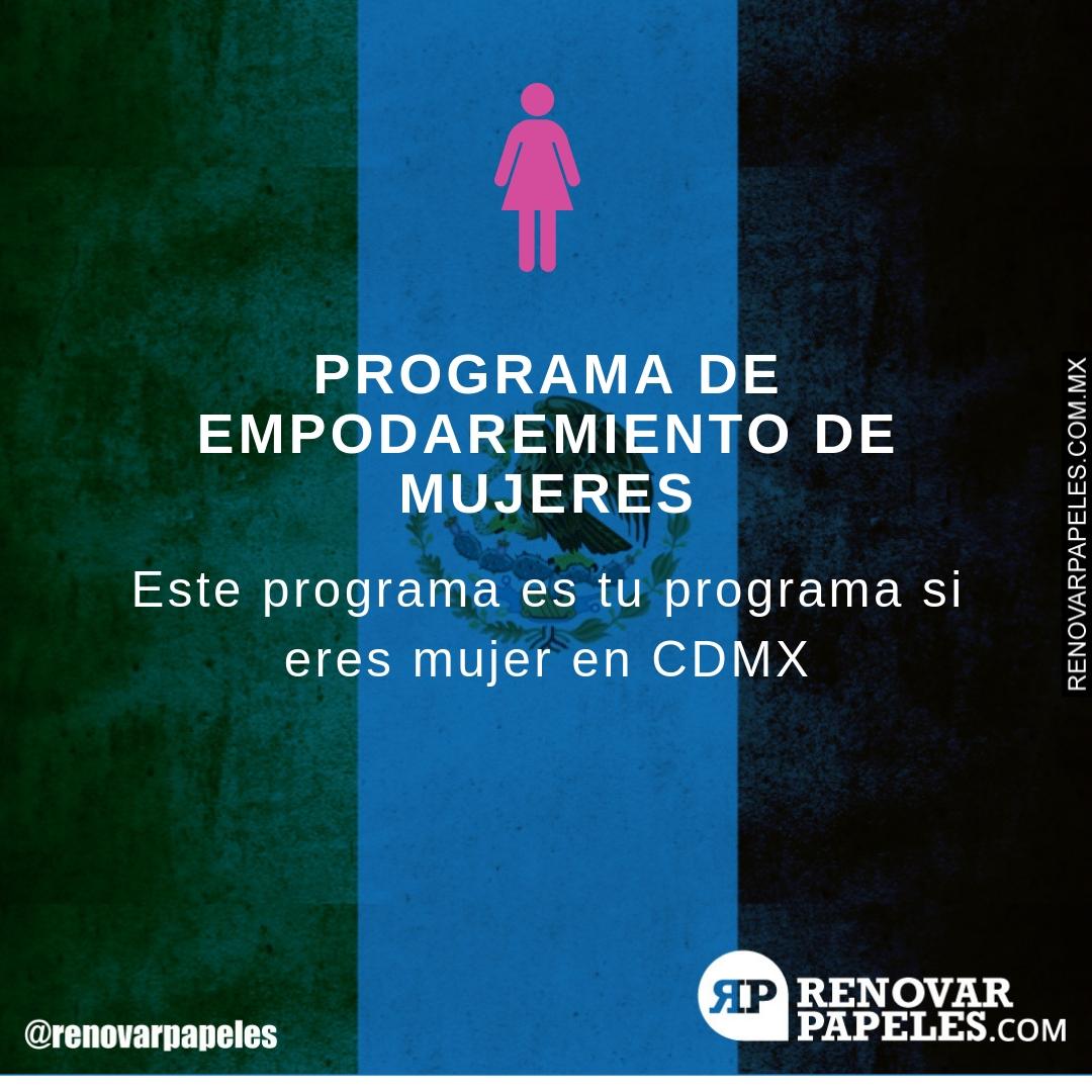 Programa de Empoderamiento en Ciudad de México