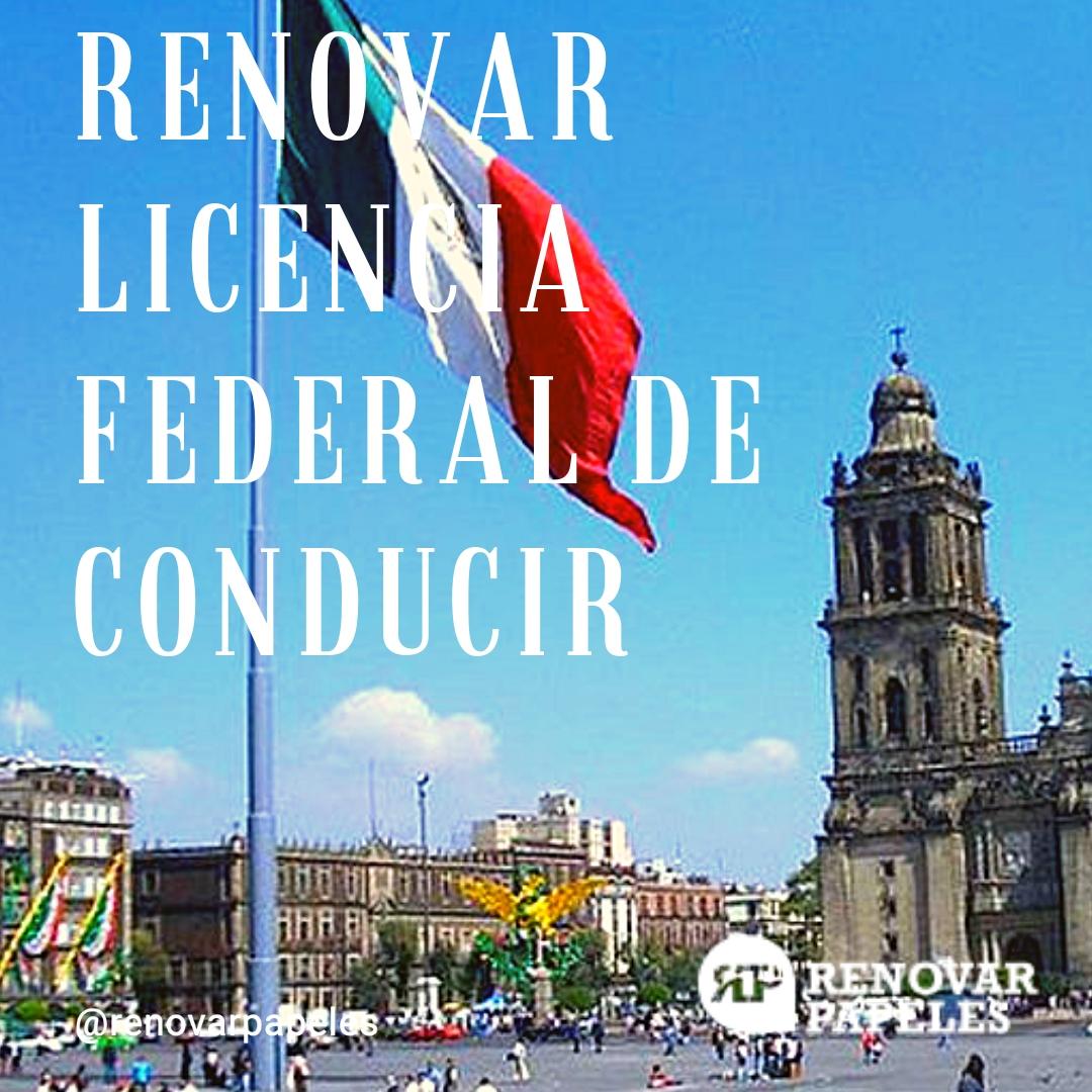 C�mo Renovar la Licencia Federal de Conductor M�xico