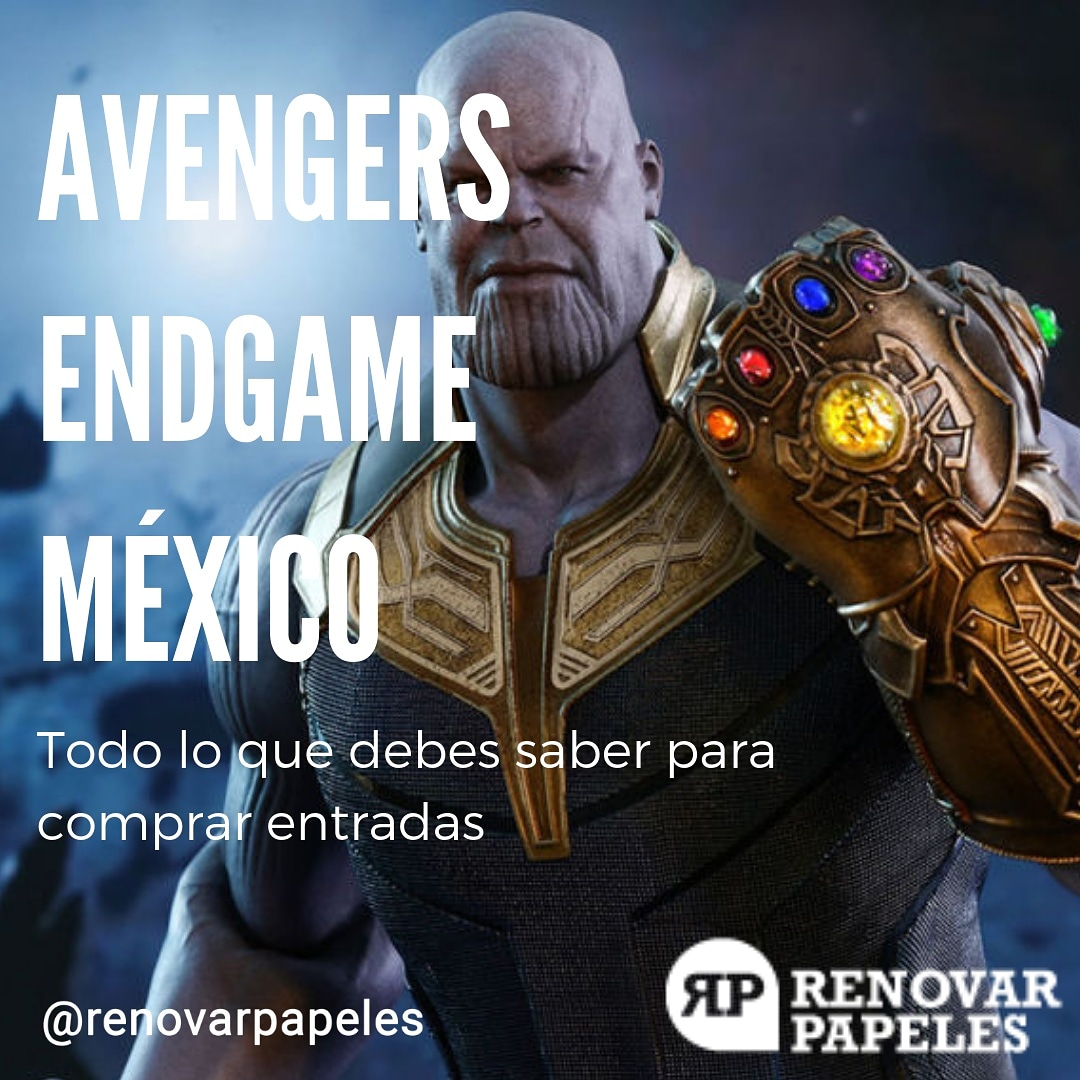 Comprar Entradas para Avengers Endgame en CINEMEX y CINEPOLIS