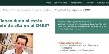 Vigencia IMSS